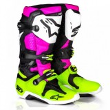 Alpinestar Tech 10 - LIMITED EDITION - PINK/YELLOW