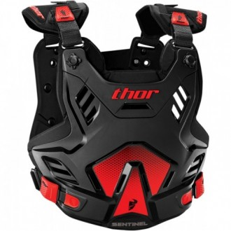 Colete Thor Sentinel XP - Black/Red