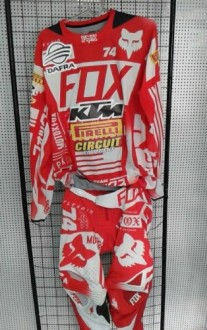 Conjunto Fox Flax Air Uso de Enzo Lopes
