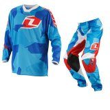Conjunto One Infantil Atom Youth - Camoto Blue